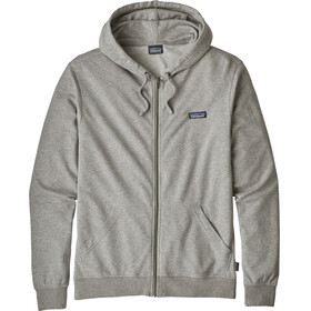 Patagonia P-6 Label Lightweight Full-Zip Hoody Men Feather Grey